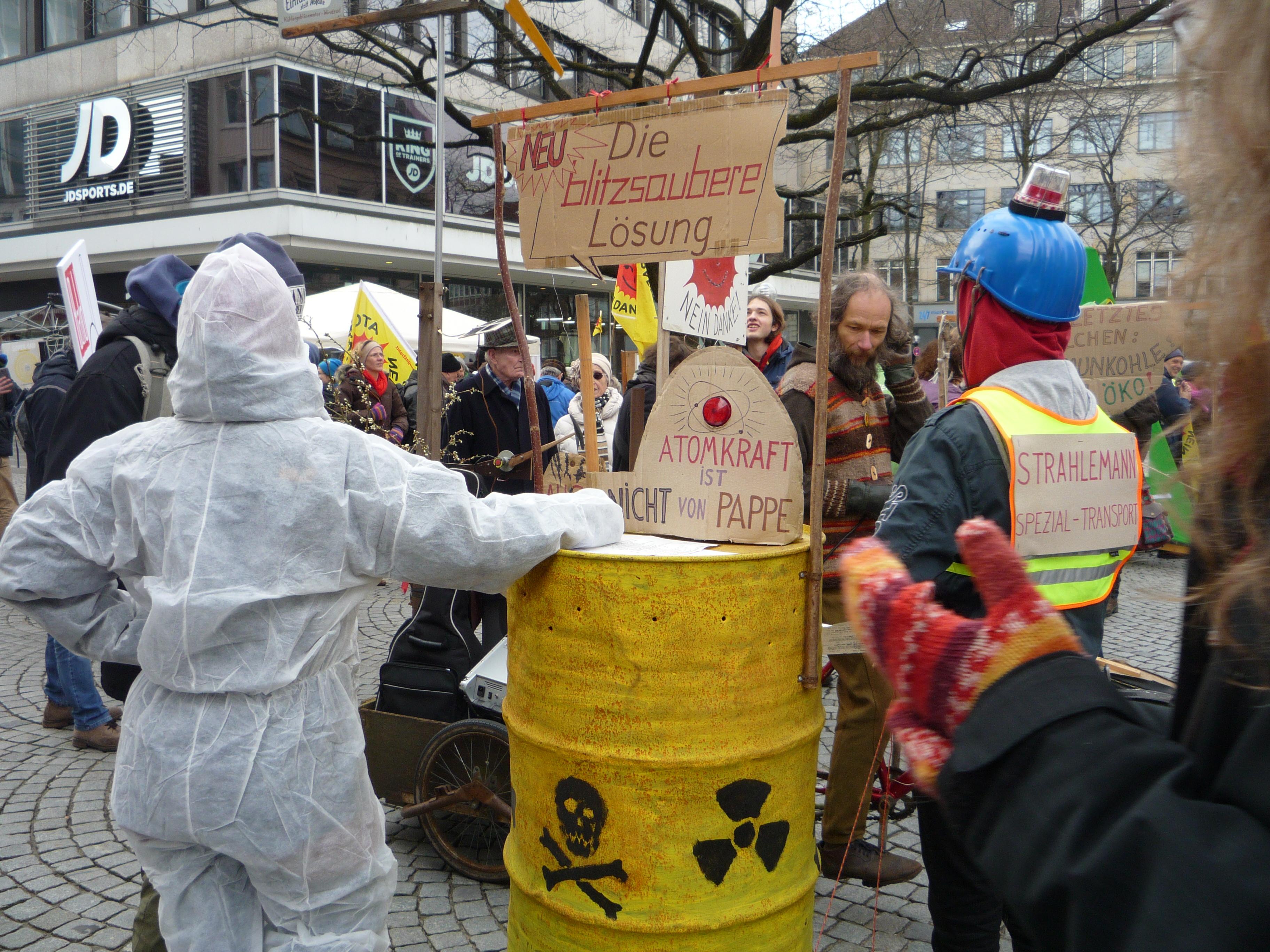 Anti-atom Demo Kiel