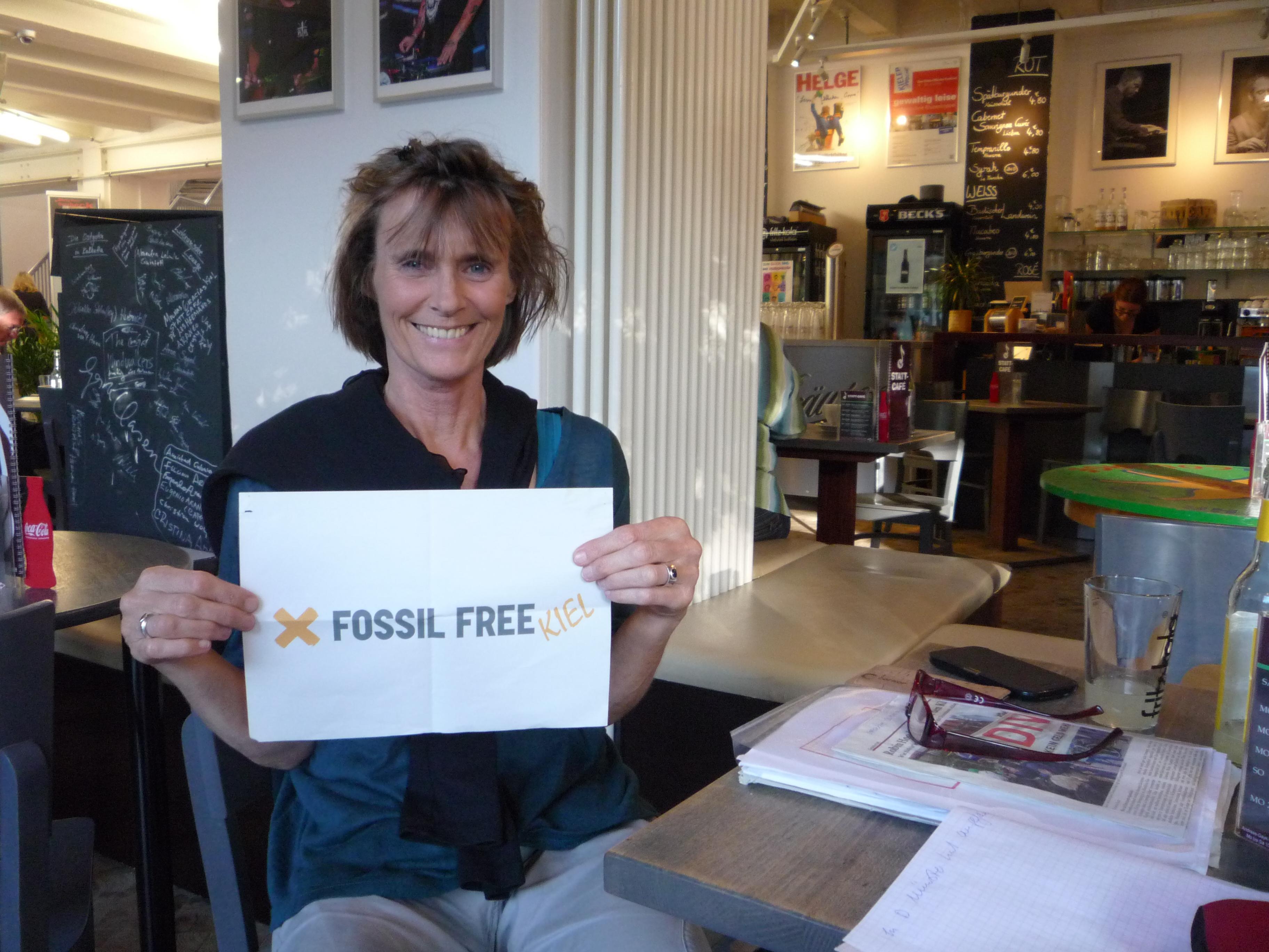 Fossil Free Kiel setzt sich für divestment ein.