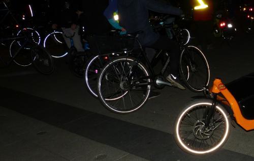 critical-mass-kiel für Fahrrad-Stadt Kiel; eigenes Foto