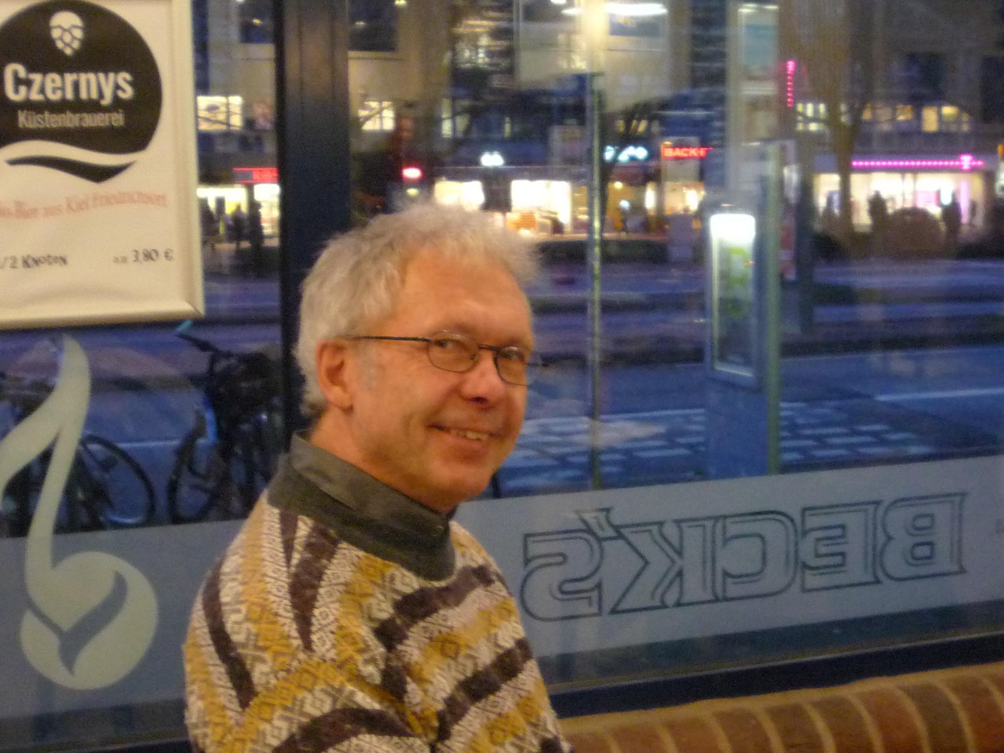 Ulrich Hühn engagiert sich für das bedingungslose Grundeinkommen.