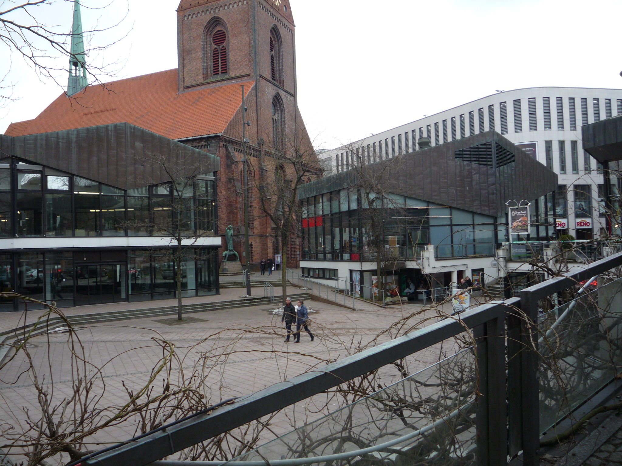 Streit um die Pavillons auf dem Alten Markt in Kiel