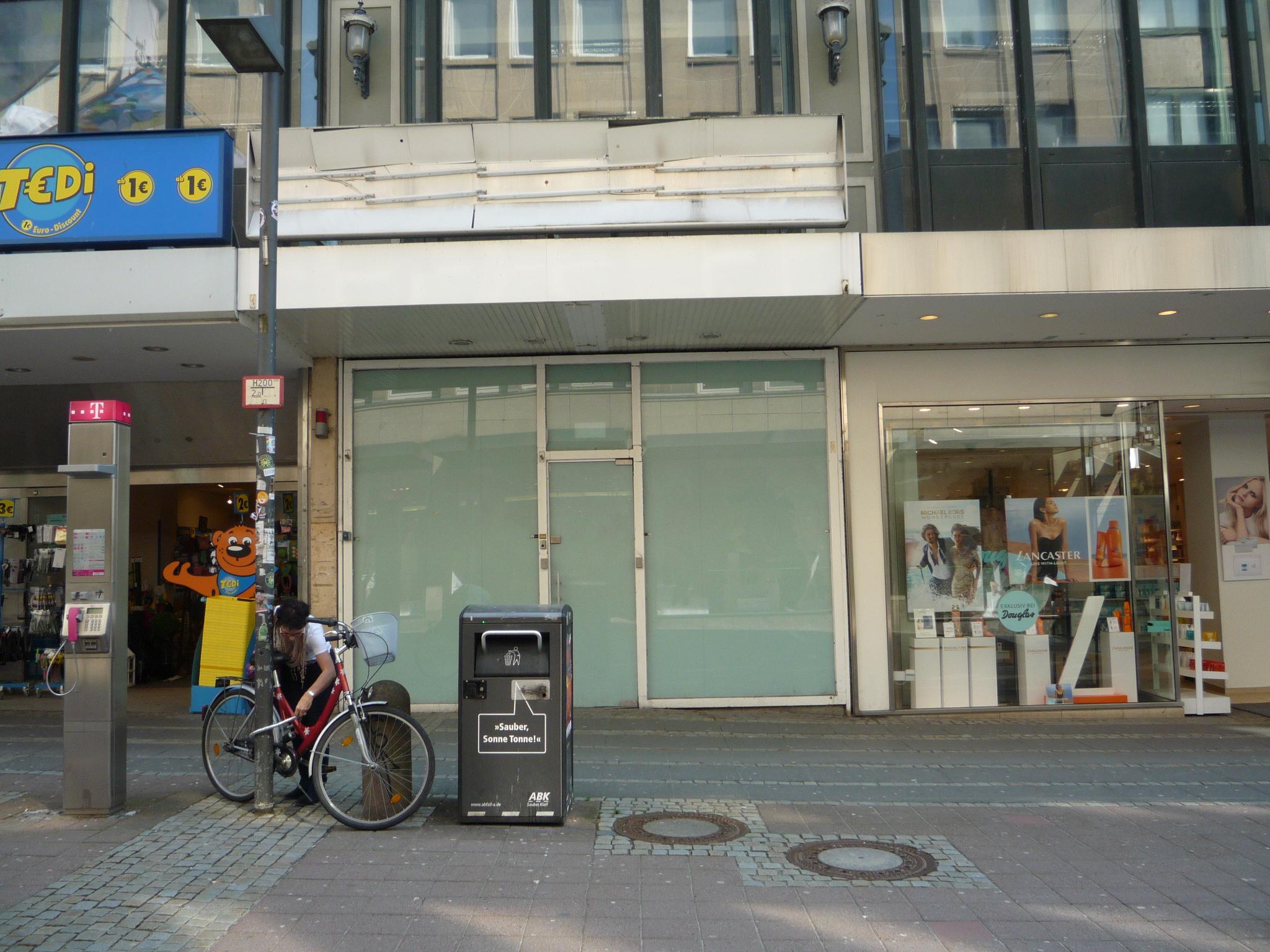 Leerstand in der Holstenstraße Kiel